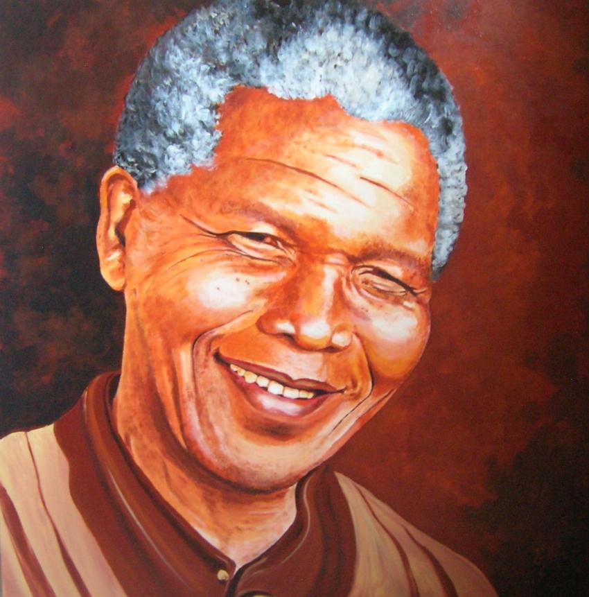 Nelson Mandela par Olivier27430